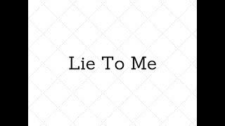 Mikolas Josef - Lie to Me/text