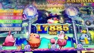 [メダルゲーム]カラコロッタ2 383250枚のジャックポットチャンス!