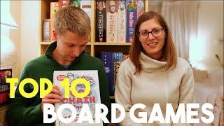 Top 10 Board Games - John & Sydney