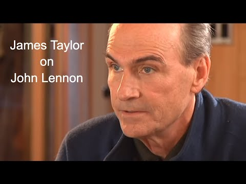 James Taylor about John Lennon on BBC
