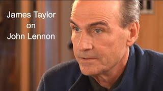 James Taylor about John Lennon on BBC