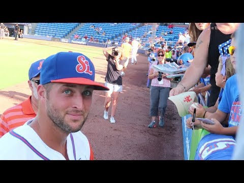 TIM TEBOW DID NOT LIKE WHAT I SAID TO HIM