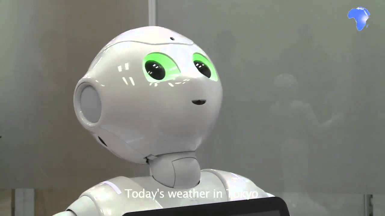 Interview with Pepper the robot