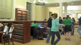 PORTMANTEAU First Silent Library Dance Party (Spring 2009)