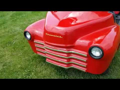 47 OLD TRUCK GOLF CART CLUB CAR PRECEDENT GOLF CART FOR SALE