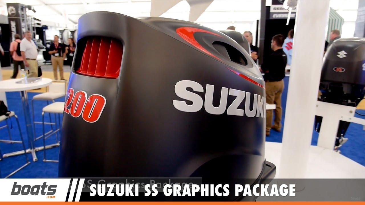 suzuki ss graphics package: first look video sponsoredunited