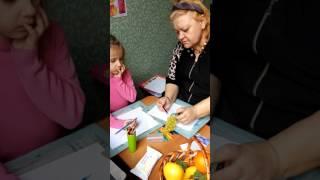 Урок рисования 5-и летней девочке от Мурашкиной Ольги