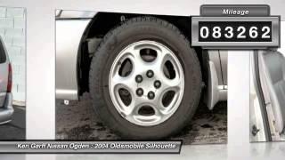 2004 Oldsmobile Silhouette Riverdale UT 3NUT5675