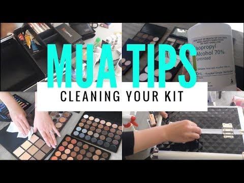 Easy Hygiene Tips: How to Clean and Sanitise your Makeup Artist kit