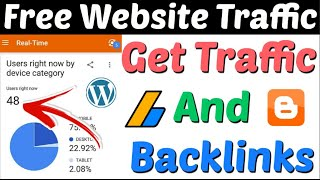 Free Website Traffic And Instant Approval DoFollow Backlinks | Website Traffic | DoFollow Backlinks