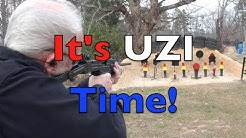 UZI .45 ACP Carbine On The Range