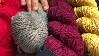 Из чего связать шарф, снуд или модную косынку на зиму?