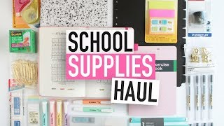 BACK-TO-SCHOOL SUPPLIES HAUL | University Stationery Essentials