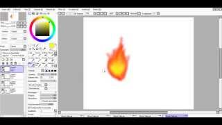 Como desenhar fogo PTS (How to draw fire)