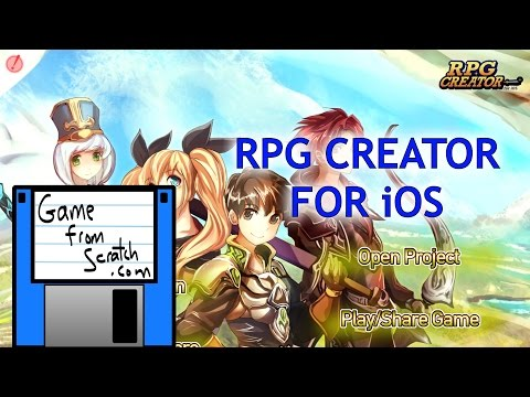 RPG Creator For IOS Hands On