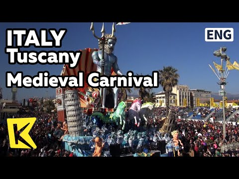 【K】Italy Travel-Tuscany[이탈리아 여행-토스카나]카니발이 열리는 중세의 세계로!Medieval Carnival/Tower/Toscana