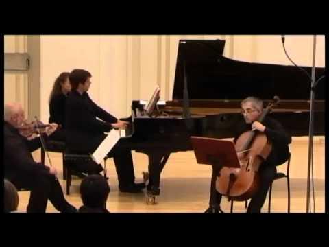 J.N Hummel piano trio G dur, 1st Mov., Martin Levický-piano,Ewald Danel violin,Ján Slávik-cello