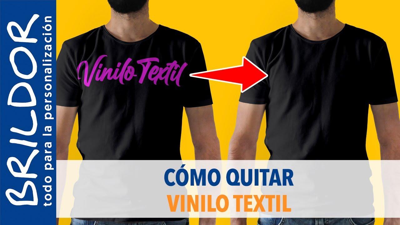 Vinilo Vinilo Textil Youtube Quitar Textil Quitar Textil Cómo Cómo Vinilo Quitar Cómo Youtube qw6vIaa