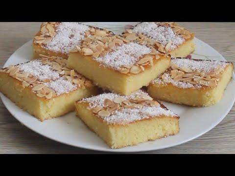 gâteau-basboussa-au-yaourt-très-moelleux-sans-ajout-de-sirop