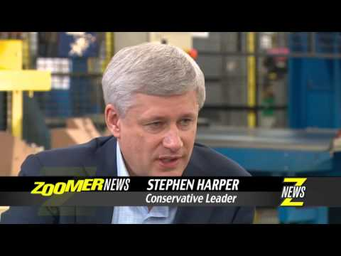 Stephen Harper Interview with Libby Znaimer Full Version