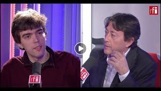 El pianista Albert Cano Smit con Jordi Batallé en RFI
