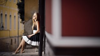 strobist video shooting at asenovgrad and portraits in plovdiv old town ブルガリアの街並みでポートレート 古いお城