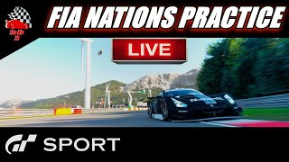 GT Sport FIA Nations Practice Live
