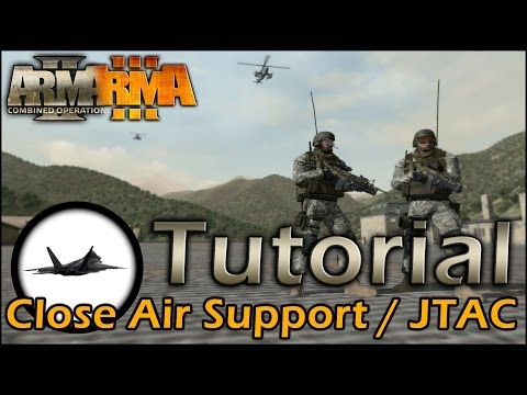 ArmA 2/3 Tutorial: Close Air Support / JTAC (german)