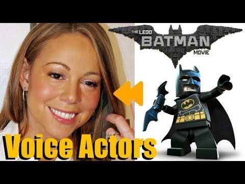 The Lego Batman Movie 2017 Voice Actors And Characters Youtube