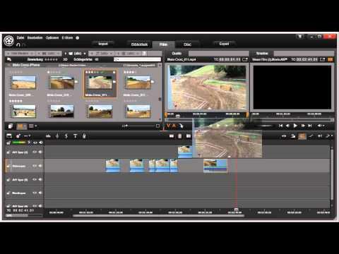 Clips einfügen Pinnacle Studio 16 und 17 Video 34 von 114