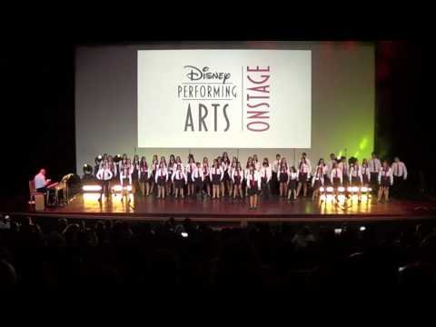 Gibraltar Youth Choir at Disneyland Paris