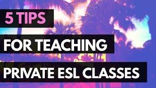 كيفية تعليم اللغة الإنجليزية الخاصة دروس المحادثة | أفضل 5 نصائح للبدء!