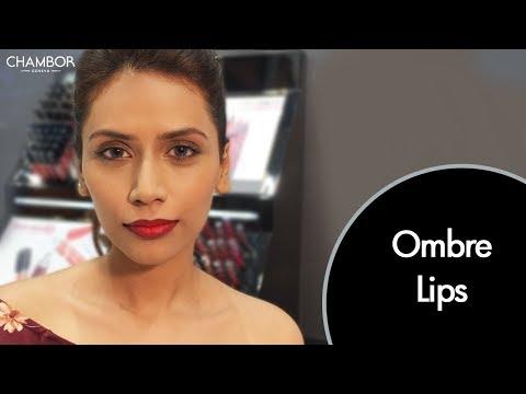 Chambor's Ombre Lips Makeup Tutorial