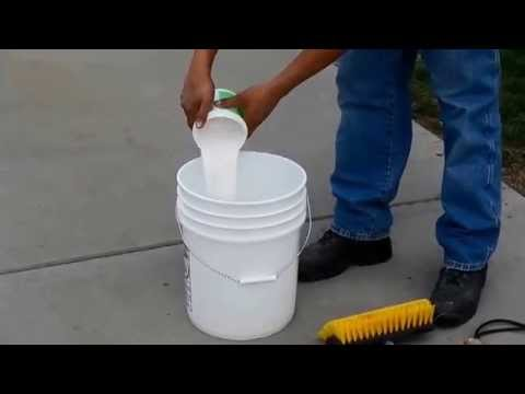 How To Clean Rust Stains From Concrete Www.SealGreen.com 800-997-3873