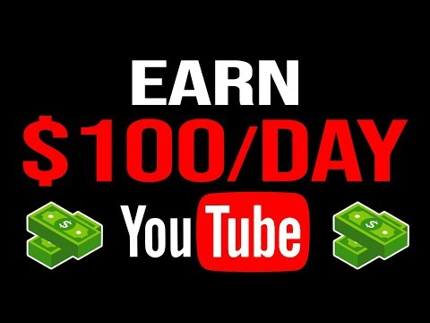 Earn $100 Per Day On YouTube Without Making ANY Videos (Make Money Online Easy)