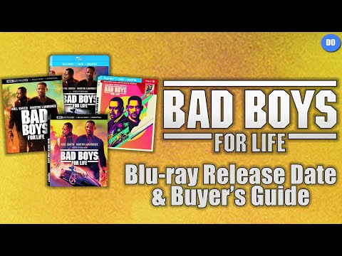Bad Boys For Life Blu-ray Release Date & Buyer's Guide