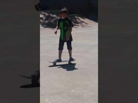 Skating downtown Seattle skatepark.