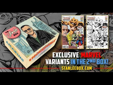 Stan Lee's POW! Entertainment and Box Blvd Announce Their Second Stan Lee Box!
