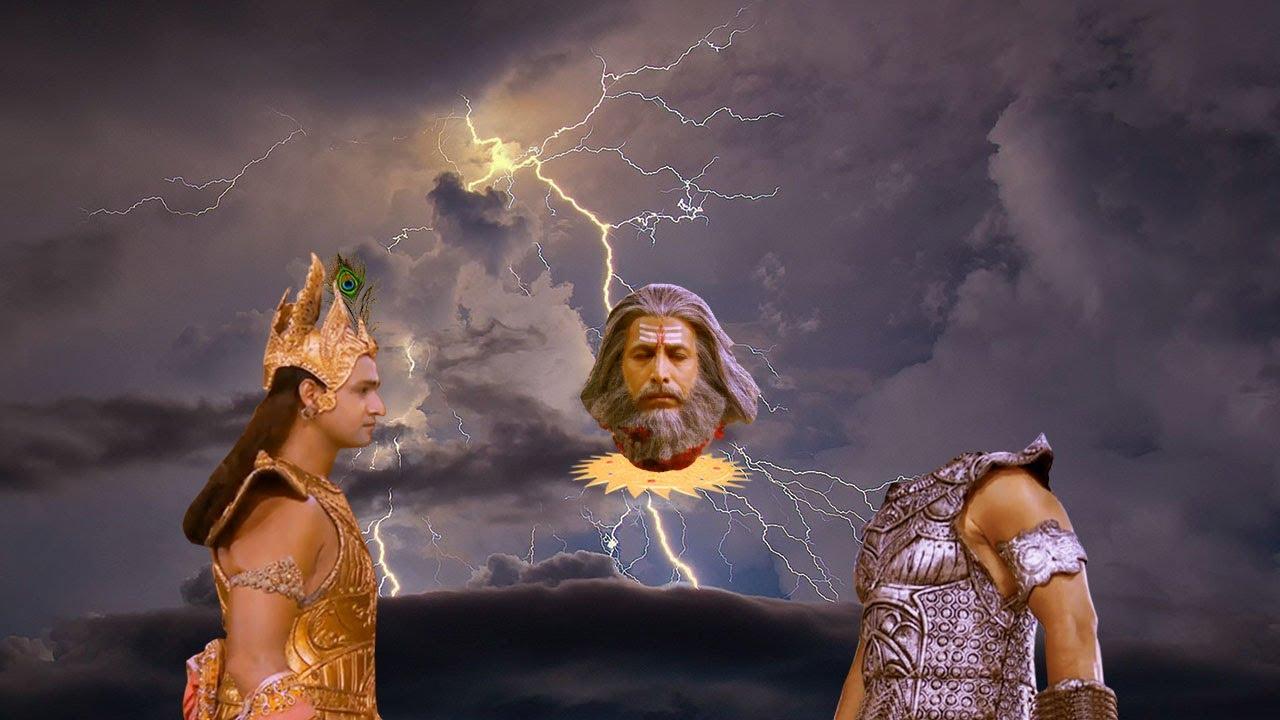 जब श्री कृष्ण और द्रोणाचार्य में हुआ प्रलयंकारी युद्ध   धरती दहल गई   Krishna Vs Dronacharya
