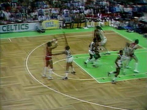 The Backboard Play - 1980-81 Houston Rockets