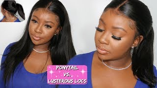 HOW TO SLEEK HIGH PONYTAIL ON A LACE WIG | RPG HAIR