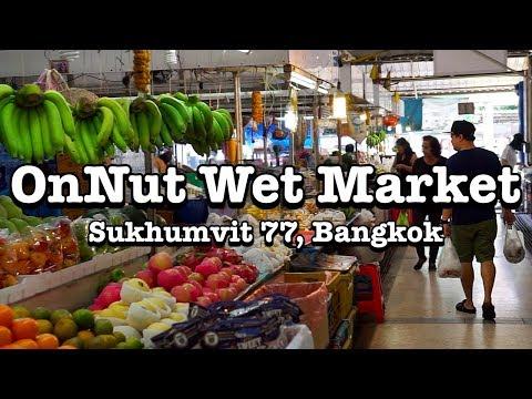 FRESH MARKET IN ONNUT - Bangkok, Thailand