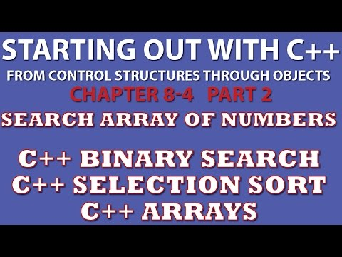 C++ Programming Challenge 8-4 Part 2: Charge Account Validation (Binary Search, Selection Sort)