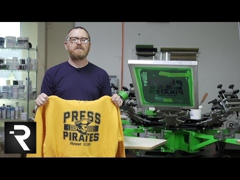 How To Screen Print on Athletic Hoodies From Hanes
