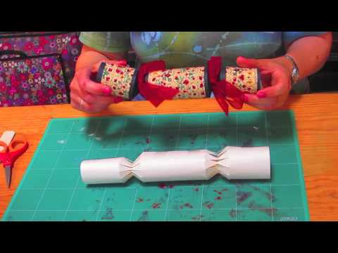 Handmade Christmas - How to Make Christmas Cracker - Jamie Malden