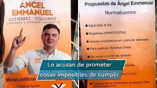 El candidato a diputado por Movimiento Ciudadano también propone que la vacuna contra Covid-19 se pruebe primero en políticos