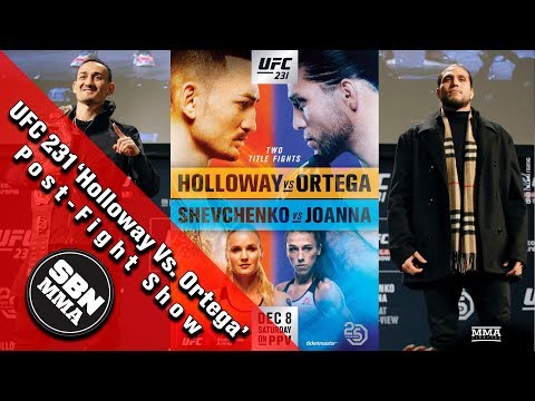 ufc-231-max-holloway-vs-brian-ortega-post-fight-show