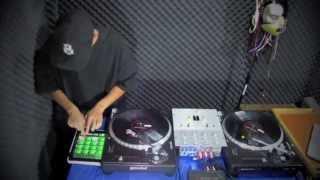 DJ TNT EL DETONADOR SESION SCRATCH LIVE SERATO MEXICO HD
