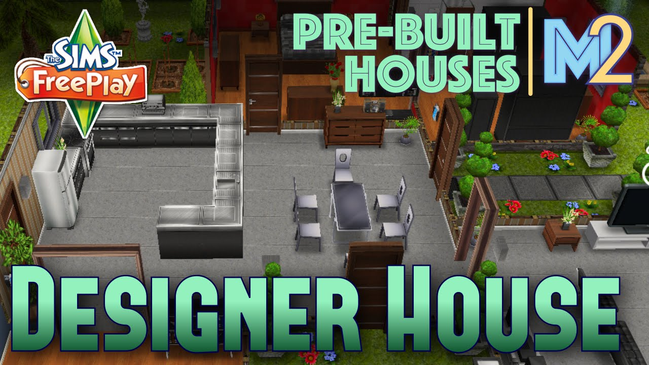 Sims FreePlay   Designer House On Premium Ocean Lot (Review U0026 Walkthrough)    YouTube