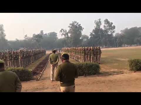Up police parade 15 PAC Agra no 1